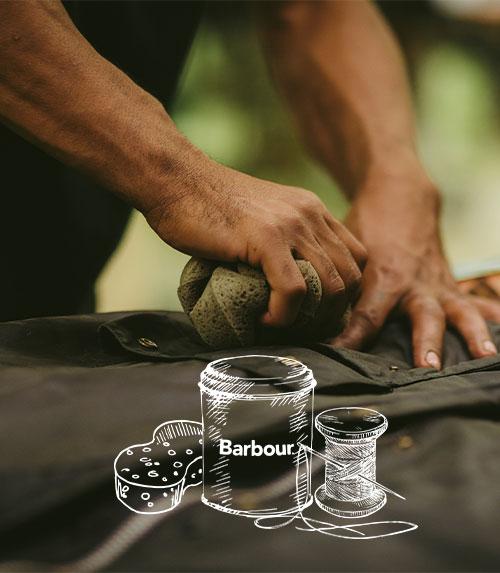 Barbour Jacket re-wax