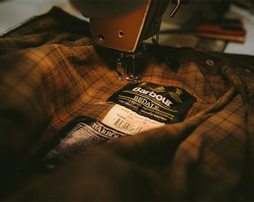 Barbour jacket repair