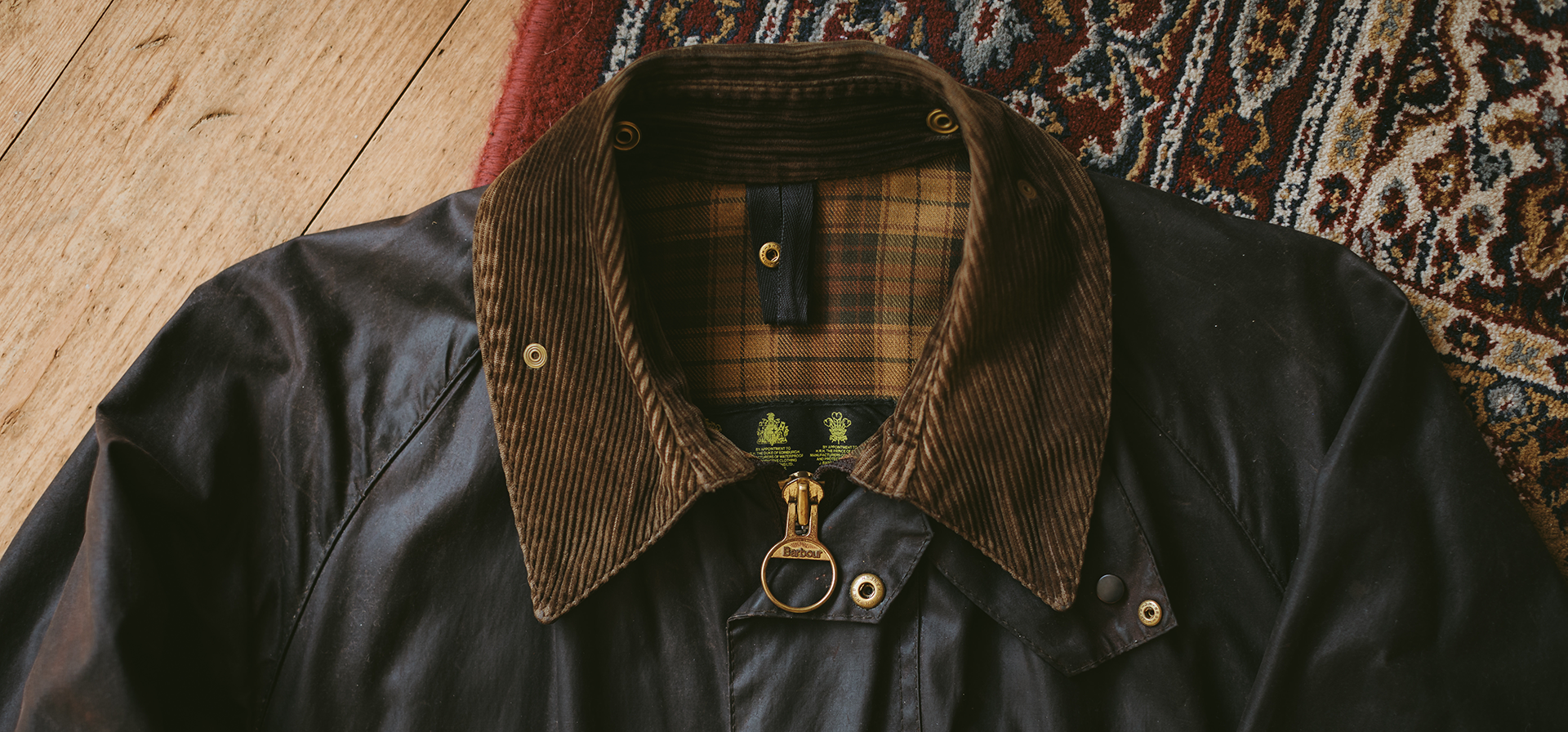 (Barbour) Barbour Waxed Jacket
