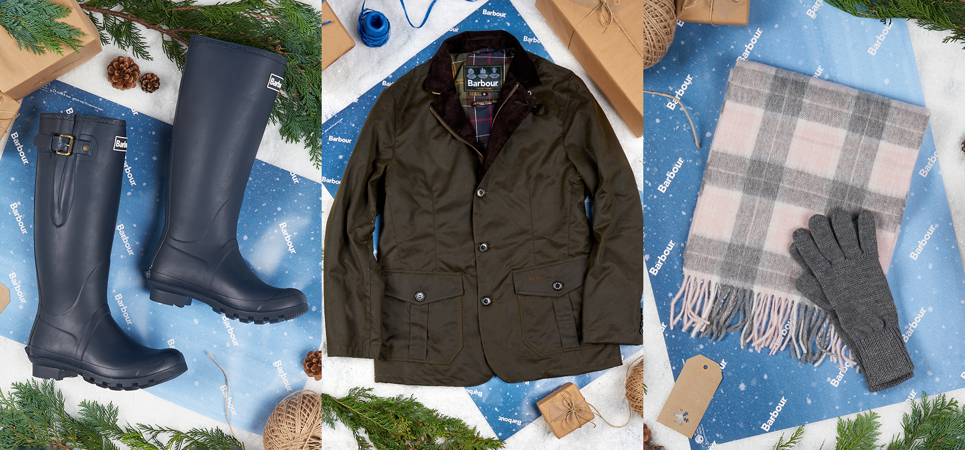 (Barbour) barbour daily gifts competition